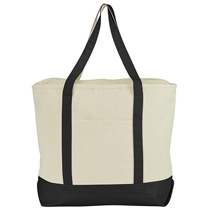 New products fashion canvas shopping bag cloth grocery bags wholesale