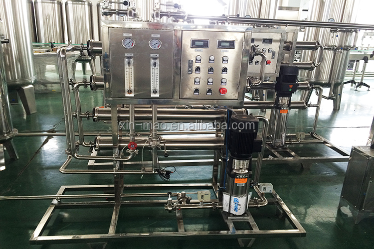 China manufacturer ISO 800 gallon per hour water hardness remover ro water treatment reverse osmosis machine