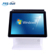 15 inch Dual screen all in one touch screen POS cashier machine Windows POS/POS cash register