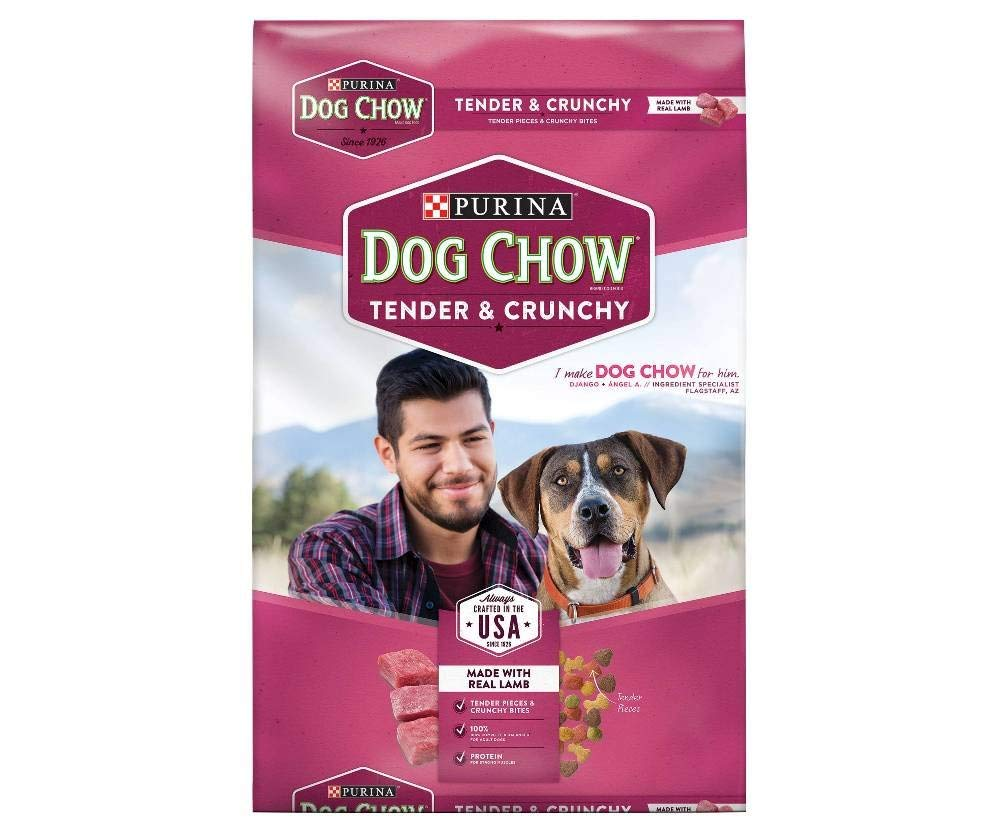 Purina Dog Chow Dry Food Tender Crunchy 16 5 Lb 4 Bags