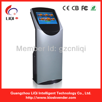 free standing cell phone charging with touch sceen kiosk