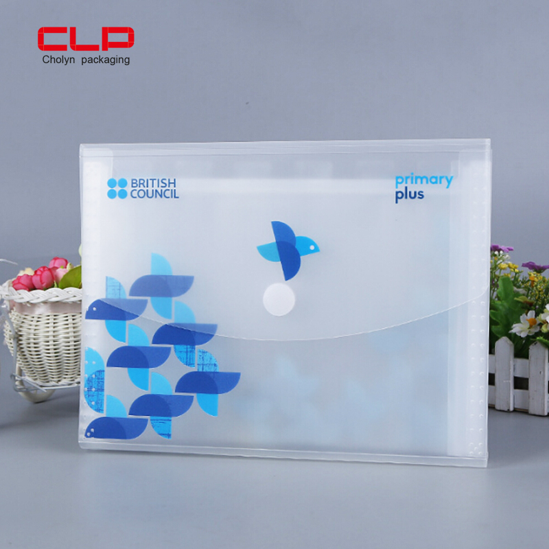 China Supplier Full Color UV Printing Customized Design File Folder