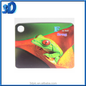 Hot sale custom Kid Learning 3d effect Flash study Cards
