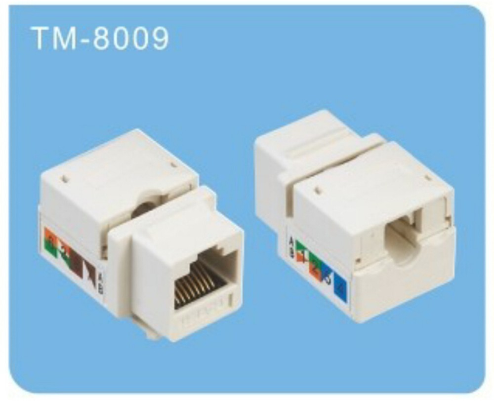 Amp Cat6 Rj45 Connector For Wall Switch With Ul Certificate 90 Wiring Plug Degree