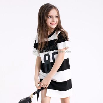 d9a084adf 016 Verano Adolescente Niñas Boutique Vestido Diseños De Moda Vestido Para  Niños De Edad 5 5 ...