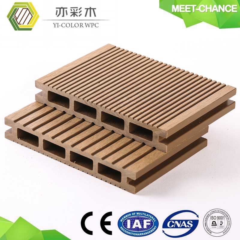 high quality plastic wood wpc composite joist for outdoor decking