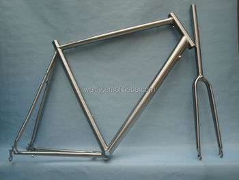 Waltly 700c titanium road bike frameset for racing