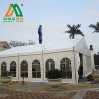 Big outdoor commercial trade show event exhibition tent
