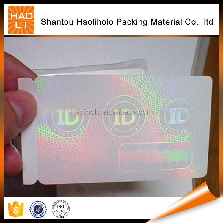 Pet Pvc Car Decoration Self Adhesive Holographic Film From China ...
