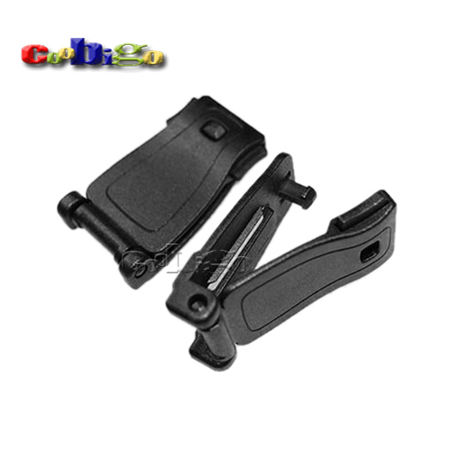 Plastic Buckles Strap Clip Belt Keeper For Molle Bag Camp Hiking Webbing 29mm #FLC074-B