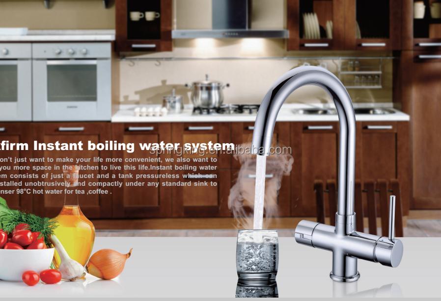 Mendidih Air Panas Kran 3 Cara Streaming Tap Memberikan Dan Dapur Mixer Untuk