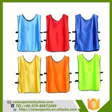 Customized hot selling football/soccer vests sport wear mesh vest