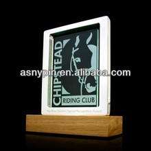 wooden printing trophy/victor honor trophies/NO.1 awarding trophy