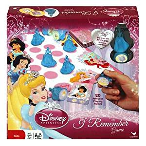 Disney Princess I Remember Game Great Gift Idea for Girls Birthday and Christmas