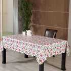 p.v.c table cloths with flannel back factory