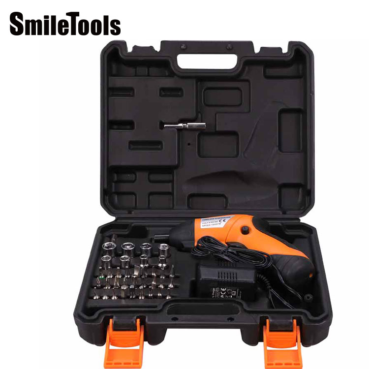 SmileTools 39pcs Box Power Kit <strong>Tools</strong> <strong>Electric</strong> Screwdriver Socket Sleeve <strong>Hand</strong> Held <strong>Tool</strong> Set
