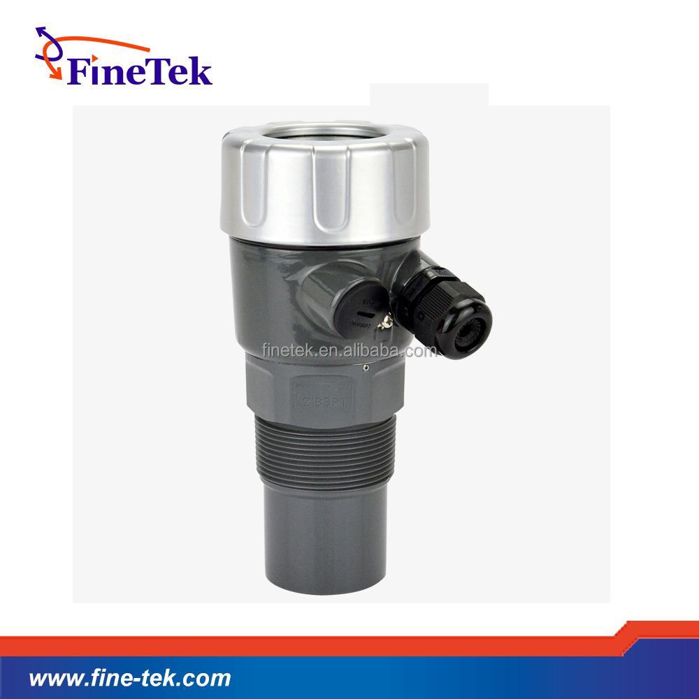 FineTek water fuel level sensor indicator Ultrasonic Level Transmitter