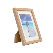 Custom square 2x6 5x5 11x14 wooden photo frame picture