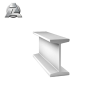 professional extruded durable anodized 6061-t6 aluminum i beam