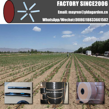 Irrigation tools supply modern plastic drip pipe for orchard irrigation