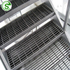 Environmental protection equipment steel bar grating manhole covers 25x5 steel grating
