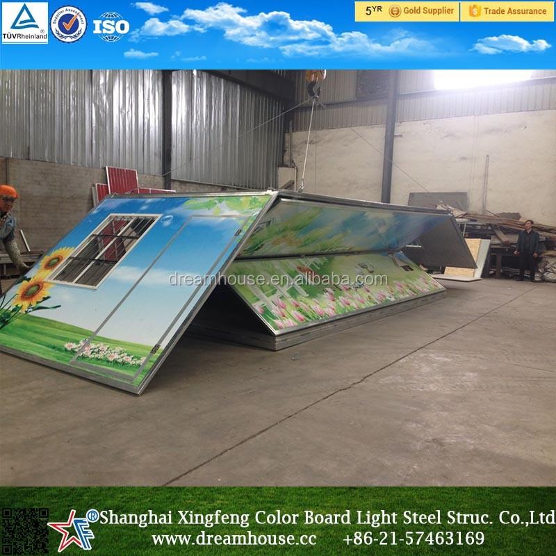 중국 새로운 디자인 현대 접는 컨테이너 주택/조립식 홈/접이식 ...