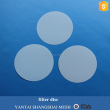 2014 Laser cutting nylon/polyester filter mesh circles Fabrication Services
