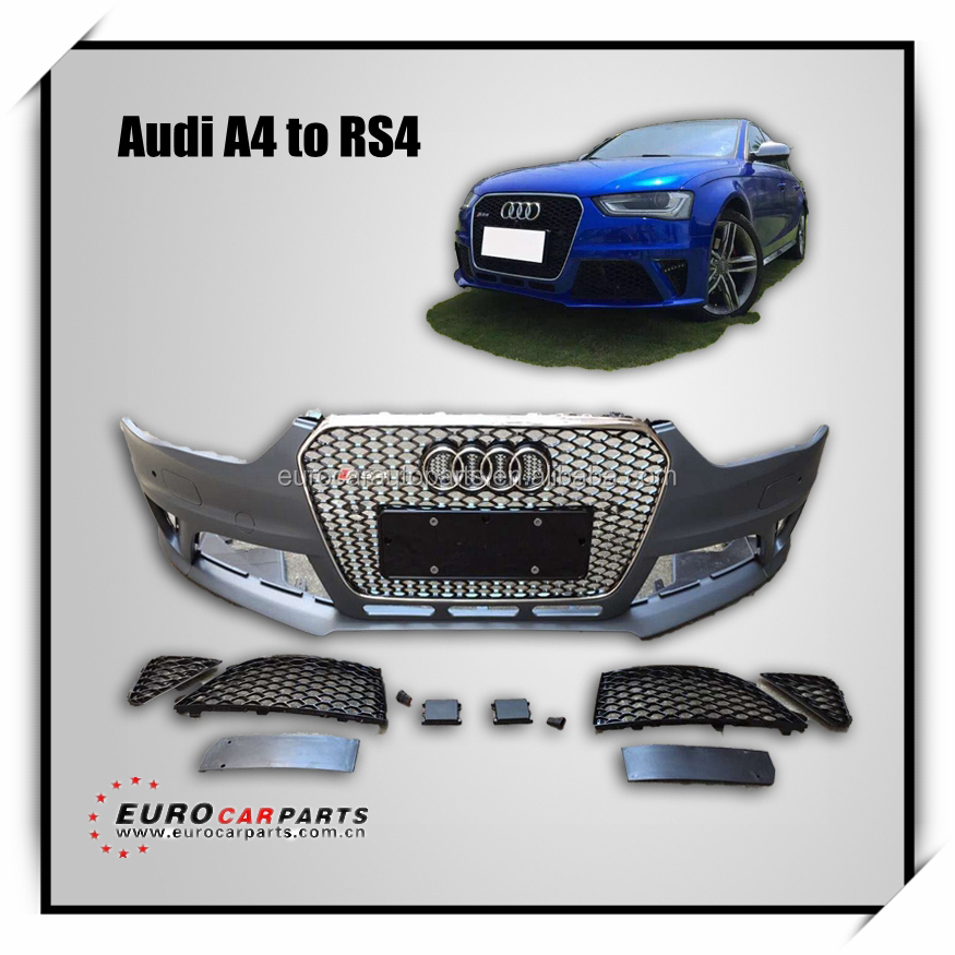 AUDDI body kit for A4 change to RS4 14year~