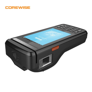 Thermal Printer Wireless Android Handheld pos with biometric fingerprint reader scanner magnetic card pos terminal machine