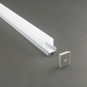 Shenzhen aluminum extrusion square profile and led lamp cover LS-059