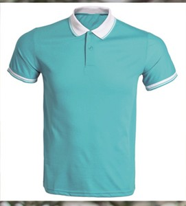 Cotton/Polyester.Short Sleeved T-shirt/Polo Shirt Couple Work Uniforms,Balanced With Color.