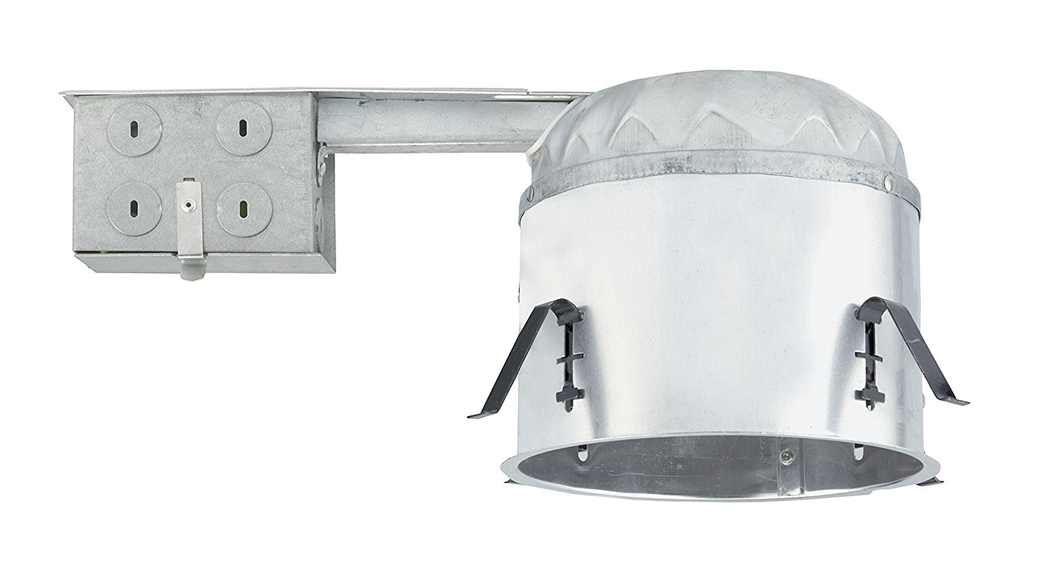 NICOR Lighting 6-Inch IC Rated Shallow Recessed LED Remodel Housing with IDEAL Connection (17014AR-LED-ID)
