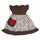 2017 latest children dress designs beautiful summer clothing with pocket