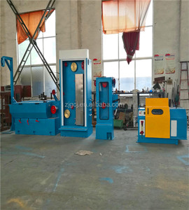 Suzhou Chengjun Medium Copper wire thinning machine with annealer
