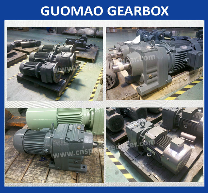 GR SERIES foot mounted gearbox