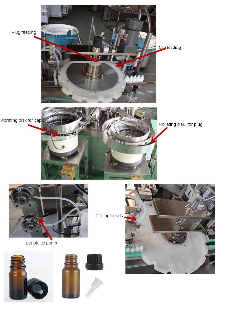 10ml 20ml automatic eliquid filling machine line