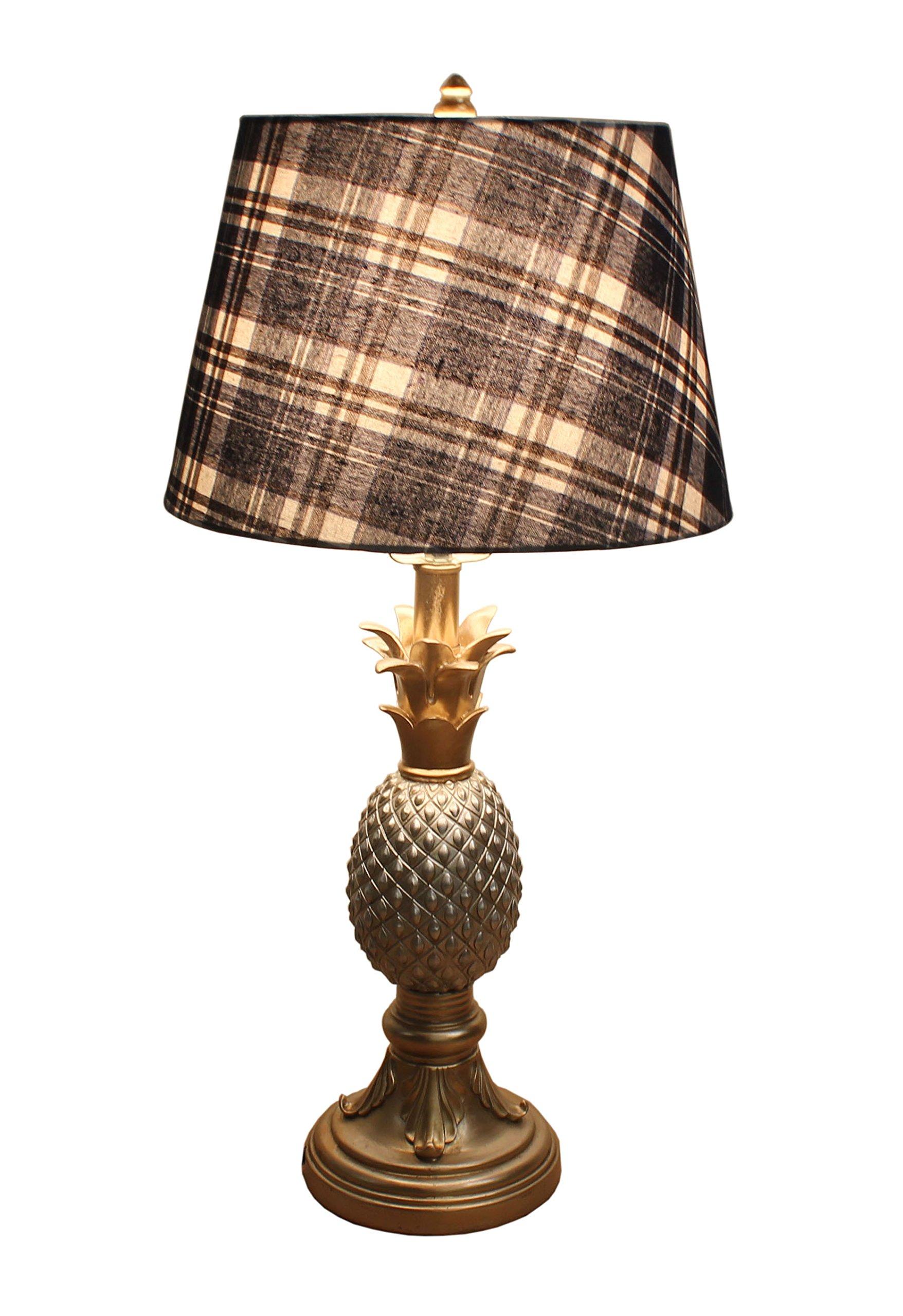 us room pineapple lamps living vintage table lamp sitting