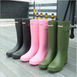 ladies rubber boots high heel quilted eva custom made women men wellington boots