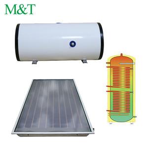 M&T heat exchange horizontal solar hot water tank solar water heater 300l