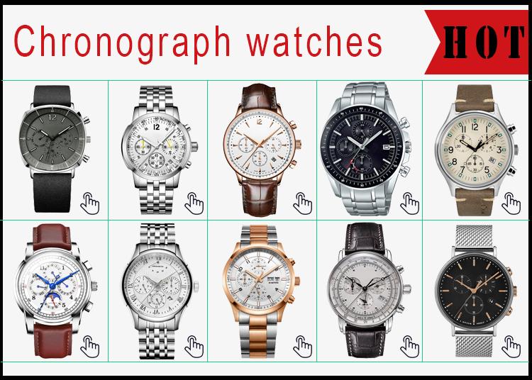 OEM elmas saatler erkekler 316lL paslanmaz çelik minimalist kol saatleri