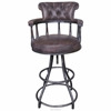 French Provincial Colorful Commercial/Industrial Bar Stool For Heavy People