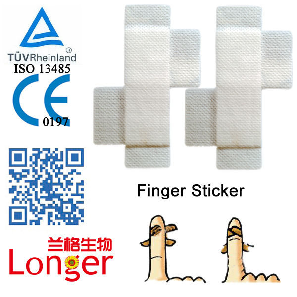 Breathable Sterile Dressing Medical Finger Cots