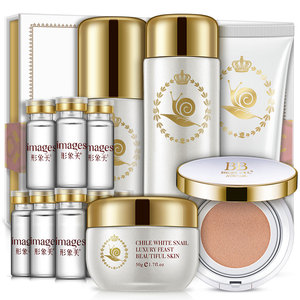 OEM snail essence double lock water nourishing skin care sets lift skin firm smooth beauty & health cosmetic