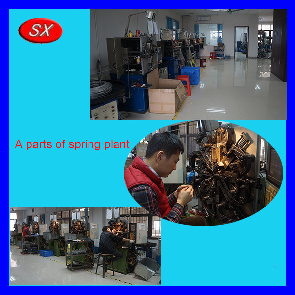 dongguan plastic steel torsion spring for switch parts, automotive spring,agriculture machine small/large extension spring