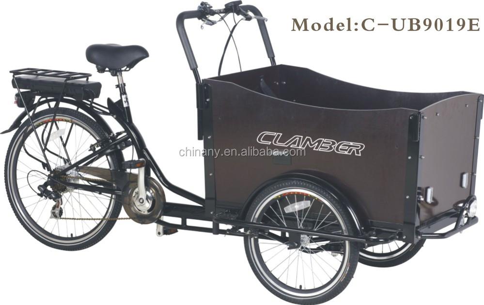 6 gang cargobike elektrische cargo fahrrad f r monther und. Black Bedroom Furniture Sets. Home Design Ideas