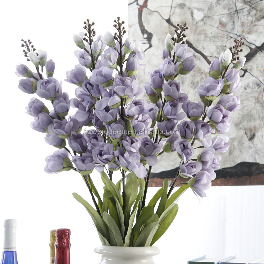 Artificial Plants Autumn Lily Of The Valley Cheap Artificial Flowers For Wedding Decoration Valley In Vase For Home Center Decor