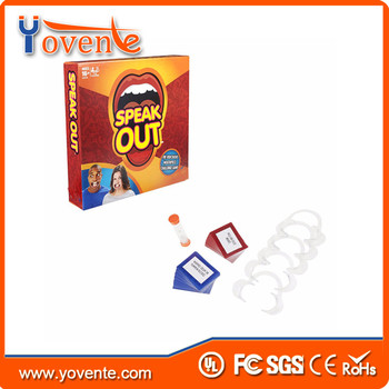 Yovente Mouth Family Edition, Mouth Guard Party Game,Speak Out Board Game Party Game for hollewen