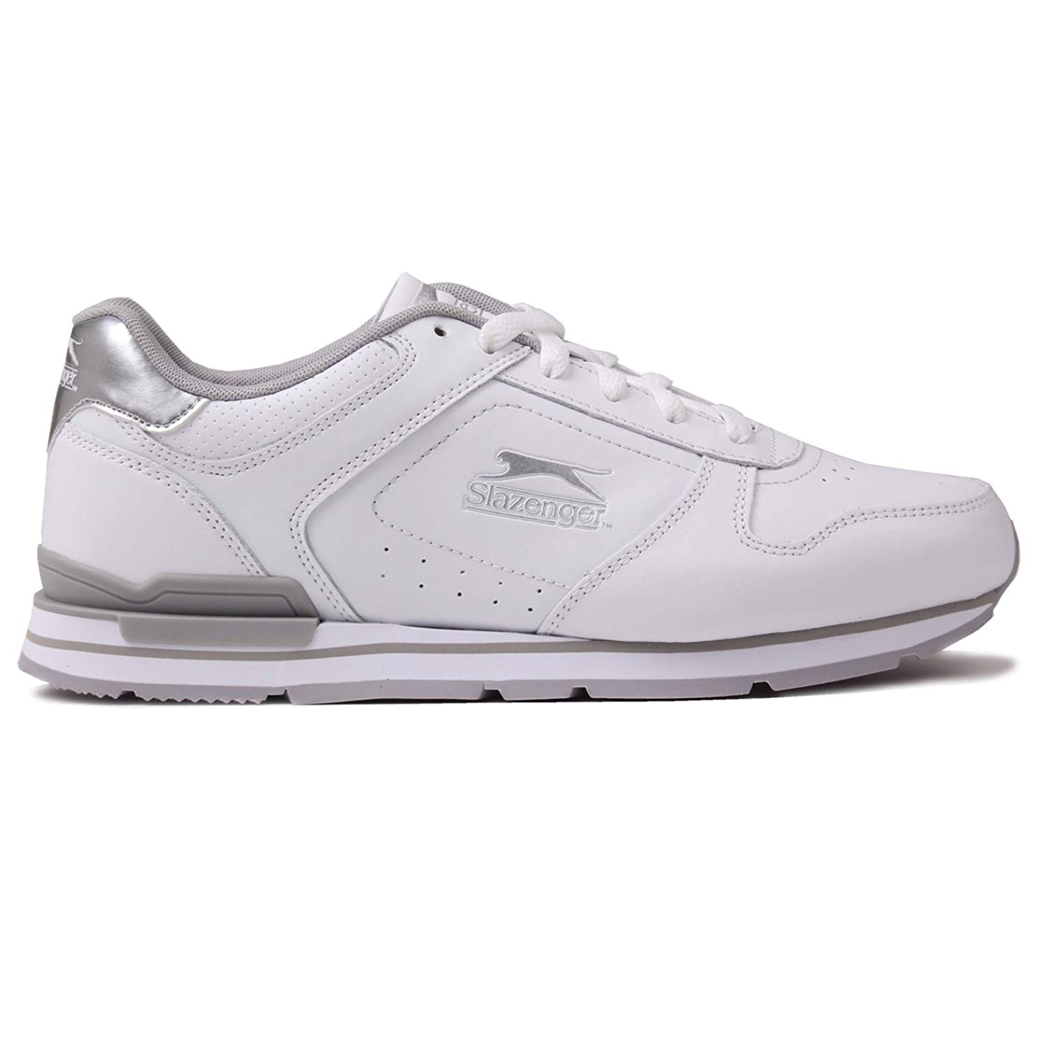 e0ea8a0c7fd Get Quotations · Slazenger Classic Trainers Lace up Padded Sneakers Shoes