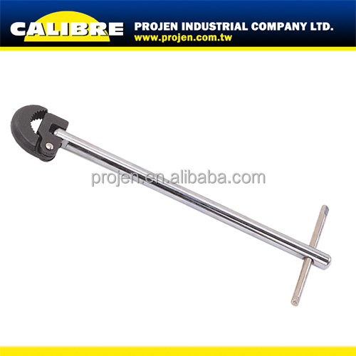 CALIBRE plumbing tools plumbing wrench 10-32mm telescopic basin wrench