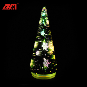 3D china manufacturer led artificial mini tabletop desk lighted christmas tree for car